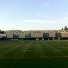 Photo taken at UCLA Spaulding Field by Theron X. on 9/28/2012