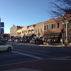 Photo taken at Downtown McKinney by Julie A. on 2/7/2015