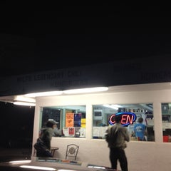 Photo taken at Milt's Stop & Eat by Lu H. on 11/26/2012