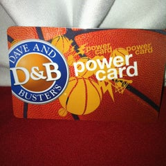 Photo taken at Dave & Buster's by Madison N. on 3/2/2013