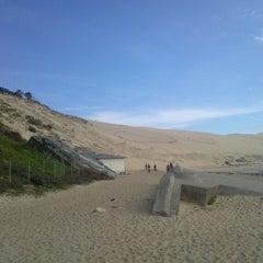 Photo taken at Dune du Pilat by 1001 p. on 3/21/2013