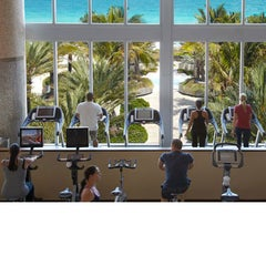 Photo taken at Canyon Ranch Hotel & Spa in Miami Beach by Men's Health Mag on 8/3/2014