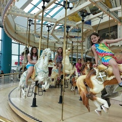 Photo taken at The Carousel @ Carousel Center by Susan M. on 5/19/2013