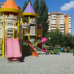 Photo taken at Teoman Öztürk Parkı by Esra Ş. on 8/27/2015