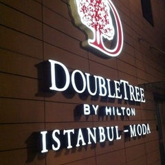 Photo taken at DoubleTree by Hilton Hotel Istanbul - Moda by Yiğit C. on 12/17/2012
