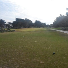 Photo taken at Pacific Grove Golf Links by Gabriel G. on 1/26/2014