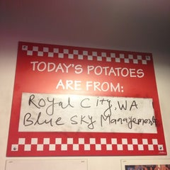 Photo taken at Five Guys by Mr Joe L. on 12/7/2012