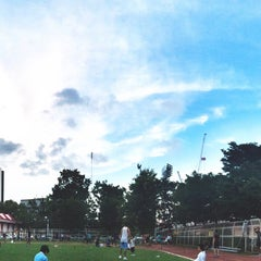Photo taken at Thephasadin Stadium by 두준 on 9/2/2015