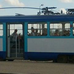 "Photo taken at 7. tramvajs | Ausekļa iela - Tirdzniecības centrs ""Dole"" by Sintija P. on 7/9/2015"