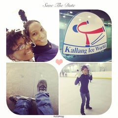 Photo taken at Kallang Ice World by Melanie R. on 5/29/2014