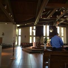 Photo taken at St. John Eudes Church by Veronica B. on 5/31/2014