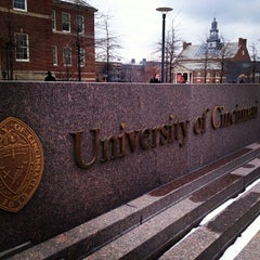 Photo taken at University of Cincinnati by Welcome to College on 3/7/2013