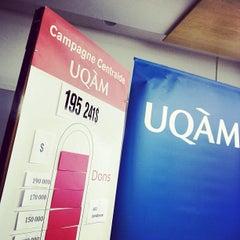 Photo taken at UQAM | Université du Québec à Montréal by UQAM on 11/23/2012