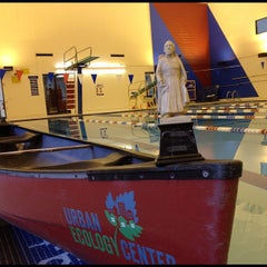 Photo taken at Helfaer Recreation Center by Father M. on 9/20/2012