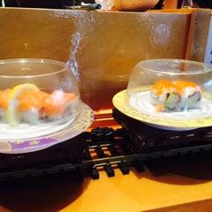Photo taken at Mizu Sushi Steak Seafood by GoGirl N. on 3/26/2015