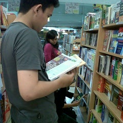 Photo taken at Gramedia by Fitrie A. on 3/23/2013