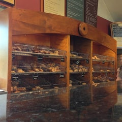 Photo taken at Burlington Bagel Bakery & Cafe by Jake B. on 10/7/2012