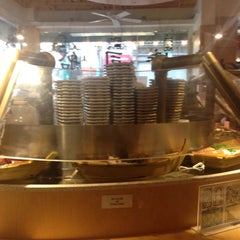 Photo taken at Floating Sushi Boat by Burcin O. on 9/16/2015