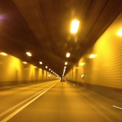 Photo taken at Elbtunnel by Christian H. on 12/26/2012