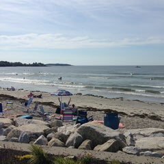 Photo taken at Higgins Beach by Ross M. on 7/6/2013
