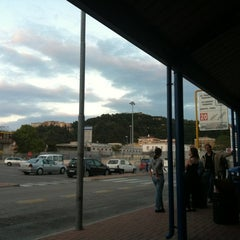 Photo taken at Ancona Ferries Terminal by Catalina Š. on 9/22/2012