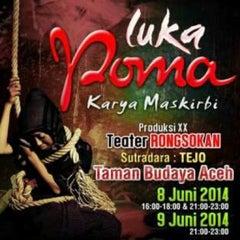 Photo taken at Sekretariat Teater 'RONGSOKAN' by Teuku S. on 6/2/2014