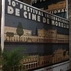 Photo taken at 10mo Festival Internacional de Cine de Morelia by Alejo R. on 11/7/2012