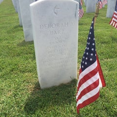 Photo taken at Jacksonville National Cemetery by Katrina W. on 5/24/2014