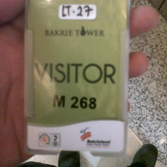Photo taken at Bakrie Tower by Roby M. on 8/11/2014
