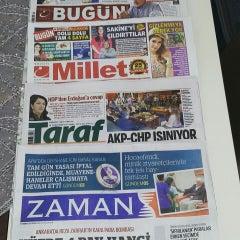 Photo taken at Zaman Gazetesi Ege Bölge Temsilciliği by Kadir K. on 7/19/2015