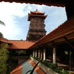 Photo taken at Ayodya Resort Bali by Takeshi S. on 11/21/2012