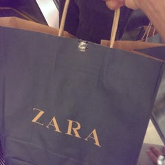 Photo taken at Zara by Arjun K. on 5/6/2014