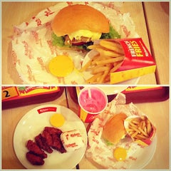 Photo taken at Richeese Factory by Dq L. on 3/3/2013