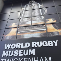 Photo taken at World Rugby Museum by Jacques on 9/20/2015