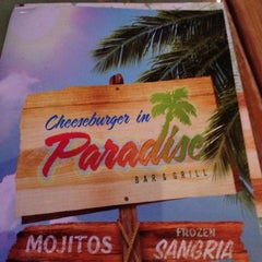 Photo taken at Cheeseburger In Paradise by Robert R. on 12/1/2012