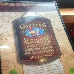 Photo taken at Gillian's Ale House by Milton R. on 7/26/2013