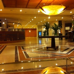 Photo taken at Sheraton Buenos Aires Hotel & Convention Center by Adrian N. on 6/7/2013