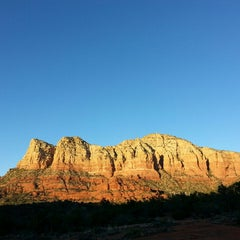 Photo taken at Sedona Red Rocks by Terry T. on 2/26/2013