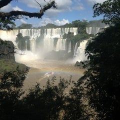 Photo taken at Cataratas del Iguazú by Globetrottergirls D. on 4/6/2013