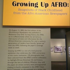 Photo taken at Reginald F. Lewis Museum of Maryland African American History and Culture by Bern U. on 2/15/2013