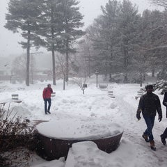 Photo taken at Olin Hall by Takuo U. on 2/18/2014