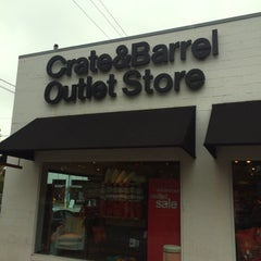 Photo taken at Crate & Barrel Outlet by Kay. L. on 8/9/2014