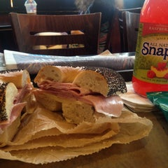 Photo taken at 14th Street Pizza Bagel Cafe by Mike C. on 7/3/2014