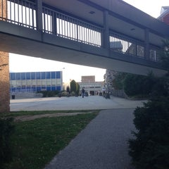 Photo taken at Queensborough Community College by Mike C. on 10/23/2012
