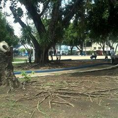 Photo taken at Praca Santos Dumont by Maria Gabriella R. on 11/29/2012