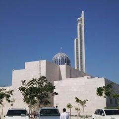 Photo taken at Abdulrahman Saddik Mosque by Kamal N. on 2/22/2013