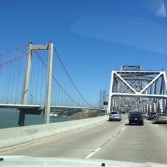 Photo taken at Carquinez Bridge by Manuel C. on 7/13/2013