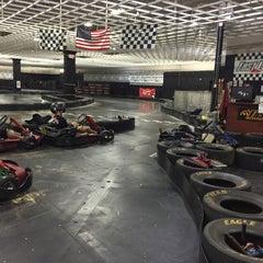 Photo taken at Fast Lap Indoor Kart Racing by Metehan K. on 10/12/2015