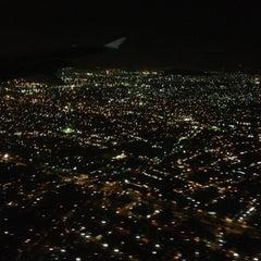 Photo taken at Aeropuerto Internacional de la Ciudad de México (MEX) by Alexis A. on 10/22/2012