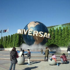 Photo taken at ユニバーサル・スタジオ・ジャパン (Universal Studios Japan / USJ) by Shiba T. on 11/25/2012